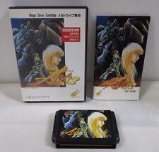 Mega-Drive Genesis -- FZ Senki Axis -- Box. JAPAN Game Sega. Work fully!! 11479