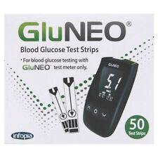 Gluneo tiras de prueba de glucosa en sangre X 50