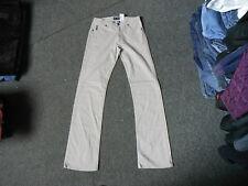 "AJ Armani Comfort Jeans Waist 26"" Leg 31"" Faded Sandy Beige Mens Jeans"