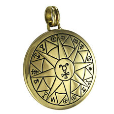 Bronze Talisman for Safe Travel Pendant Protection Amulet Wiccan Pagan Jewelry