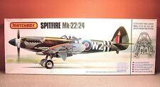 1/32 MATCHBOX SPITFIRE MK-22/24 MODEL KIT # PK-501