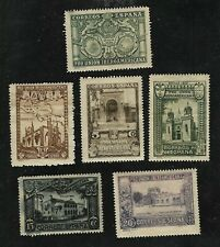Spain #433-438 Spanish American Expo - Short Set of 6 values - MH