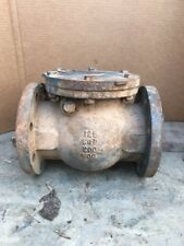 """MILWAUKEE VALVE 2974 Swing Check Valve 4"""" Flanged 8 Bolt Connection Type"""