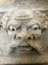 Medieval Stone Carved Green Man Originally From A Monastery