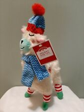 Holiday Puppy Dog Toy Llama It Squeaks New With Tags