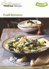 Recipe Card: Fusilli Romano (Waitrose)