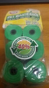 Waste Bags Dogs Plant Based  40% Corn Starch 90ct  Baking Soda Arm & Hammer