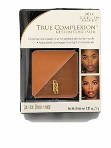 Black Radiance True Complexion Custom Concealer 8016 Light To Medium