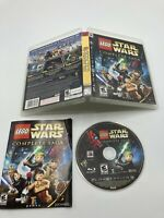 Sony PlayStation 3 PS3 CIB Complete Tested LEGO Star Wars: The Complete Saga