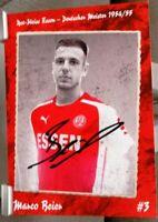 Rot-Weiss Essen + Handsignierte Autogrammkarte + Marco Beier /17