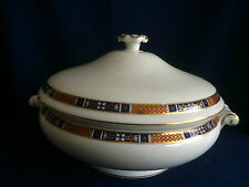 Wedgwood Tapestry lidded vegetable tureen/bowl (some very minor rim gilt wear)