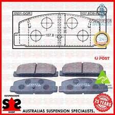 Rear Axle Brake Pad Set, Disc Brake Suit MITSUBISHI STARION 2.0 Turbo ECi