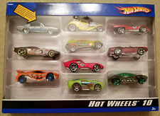 2006 Hot Wheels 10 Pack Exclusive '68 Plymouth Hemi Cuda, '69 Camaro Wheel Error