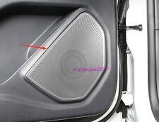 Stainless steel Door Speaker Decoration cover Trim For Ford Explorer 2020 2021