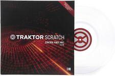 Native Instruments Traktor Scratch Pro Control Vinile di Controllo Trasparente
