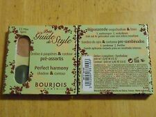 1 BOURJOIS PETITE GUIDE STYLE PERFECT HARMONY EYE SHADOW 11 MISS SPIRIT nip