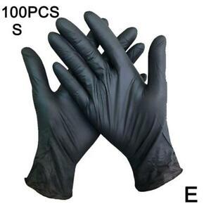 100pcs Disposable Gloves Nitrile Latex Garden Work Universal.