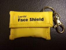 Beatmungsmaske Notfall Schlüsselanhänger LAERDAL Face Shield Farbe gelb #1046