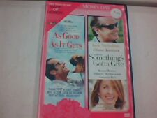 As Good As It Gets/Something's Gotta Give (DVD), Used, Good Condition