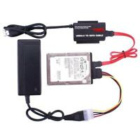 USB 3.0 to 3.5 2.5 IDE SATA Hard Drive Adapter HDD Reader Converter Docking GOOD
