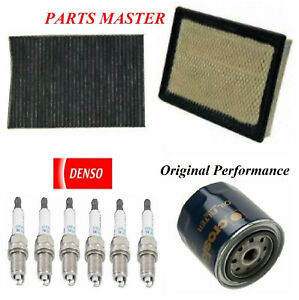 Tune Up Kit Filters Spark Plugs Fit DODGE CHARGER V6; 3.5L 2006-2007