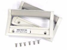"""Agilent HP Keysight 5063-9227 Front Handles  - 3U, 132.6mm, 5.25"""" H, Quartz Gray"""