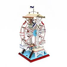 Vintage Doll et Cie German Painted Tin Ferris Wheel Steam Toy Accessory Nice!