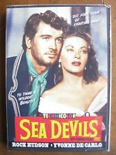 SEA DEVILS (1953) ROCK HUDSON, YVONNE DE CARLO - BRAND NEW, FACTORY SEALED!!!