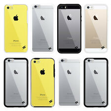 Ultra-Thin Hybrid Bumper Clear Back Case Cover Skin for iPhone 6s Plus 5s SE 5c