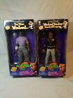 Space Jam Tee Time Michael (Jordan) Toy Figure plus baseball league figure lot