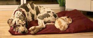 durable   WATERPROOF Dog Bed Pet Washable non slip inner cushion   warm