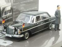 Minichamps 436 039100 Political Leaders Mercedes Benz 300 SL Willy Brandt Boxed