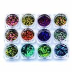 Chameleon Glitter Sequins Nail Art Paillette Flakes Powder DIY Tips Decorations