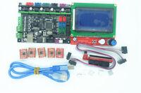MKS Gen-L 3D Printer Controller Replace Ramps & Mega 2560 + 12864 LCD + 5x A4988