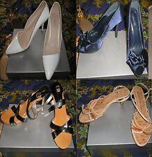 lotto 4 scarpe donna (3 numeri 39 1 numero 40)