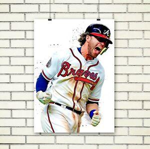 Dansby Swanson, Poster, poster, , Atlanta Braves, Poster Print, Wall Art, Kids R