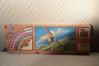 MAQUETTE AVION HENSCHEL HS 126 DRAGON ACROBATIC TEAM  NEUF PLANE VINTAGE 1970