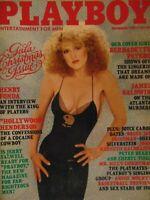 Playboy December 1981 | Bernadette Peters Patricia Farinelli       #1665