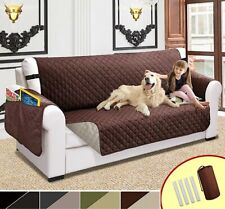 Sofa Couch Cover Pet Dog Kids Mat Protector Stretch Washable Armrest Slipcovers