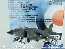 BAE SEA HARRIER FRS AIRPLANE AIRCRAFT MODEL 1:72 SIZE 1982 ROYAL AIR FORCE MK1 T