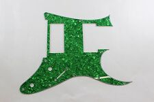 Green Pearl Pearloid Pickguard Fits Ibanez (tm) Universe UV UV777 7 String- HXH