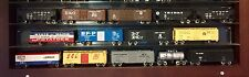 N Scale Lot of 14 Smooth Running Freight Train Cars Coal Box Tank Cattle Custom