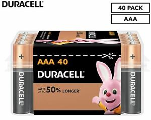 Duracell Coppertop AAA Battery 40-Pack - NEW FREE SHIPPING