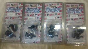 Buell 1125R rear swing arm spools/sliders black