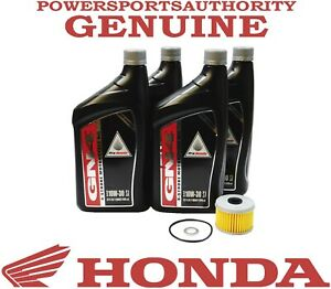 2020-2021 Honda Foreman Rubicon TRX520 FM OEM Oil Change Kit H132