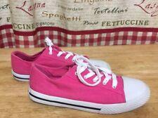 Airwalk Women's Girls Pink Canvas SNEAKER Street Skate Shoes Size 3 EXCELLENT