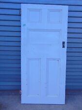 Reclaimed Georgian Pine Internal Wooden Door 901