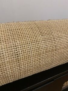 Rattan Cane Webbing Radio Weave 45cm Width Per 50cm for Furniture Up-Cycling
