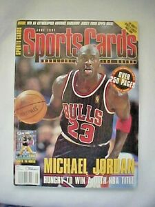 Sports Cards Magazine and Price Guide June 1997 Michael Jordan Cover NEW