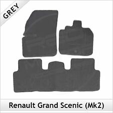 Renault Grand Scenic Mk2 2003-2009 Tailored Fitted Carpet Car Floor Mats GREY
